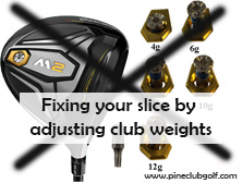 5 Easy Steps on How to Fix your Golf Slice! - Pine Club Golf
